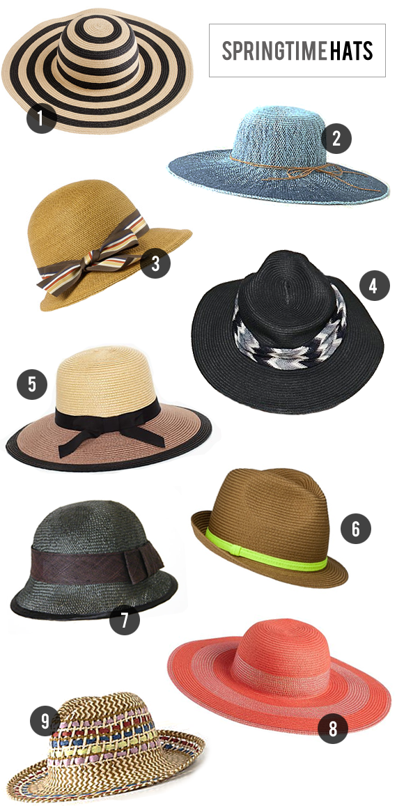 The Best Springtime Hats // Bubby and Bean
