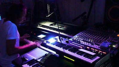 Андрей Климковский & Игорь Колесников | Глубокий Космос | Студийная экспериментальная сессия : аудио, видео, фото