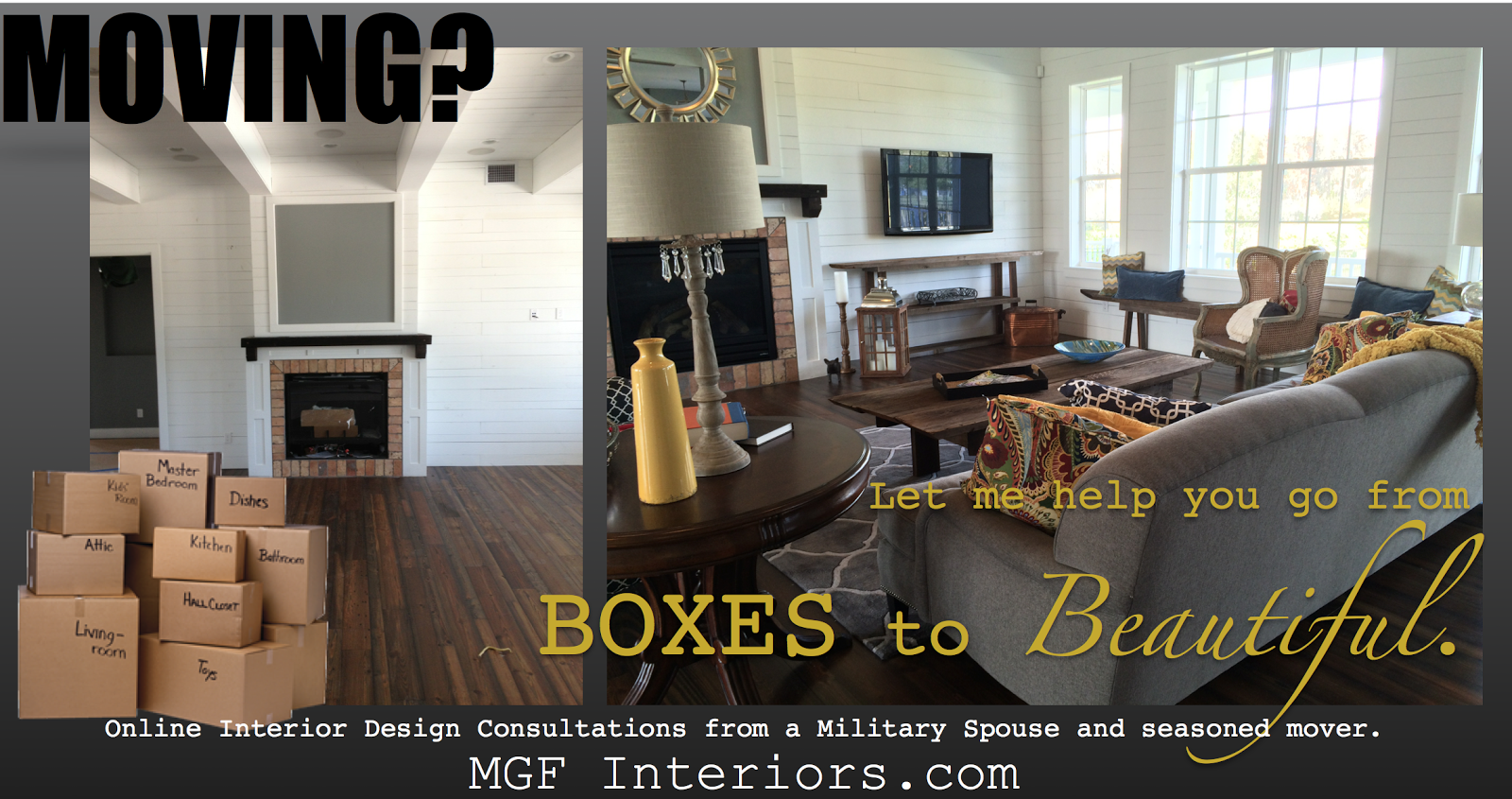 MGF Interiors PCS e-design