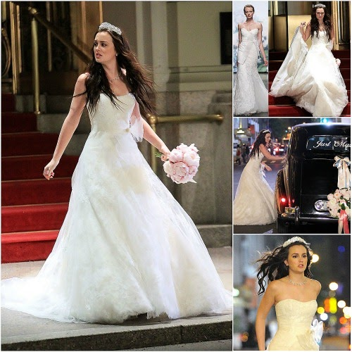 modatime white saturdays blair y su vestido de novia