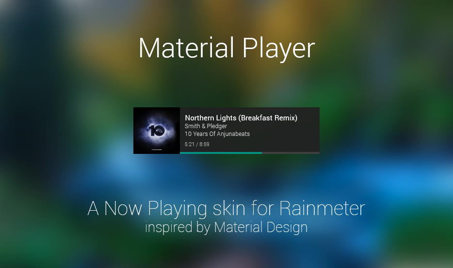 Material Player