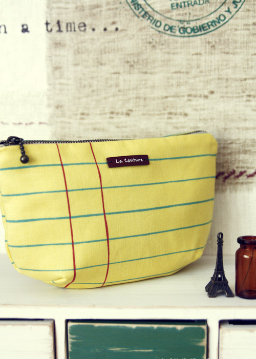 Cosmetic Pouch Bag Tutorial ~ DIY Tutorial Ideas!