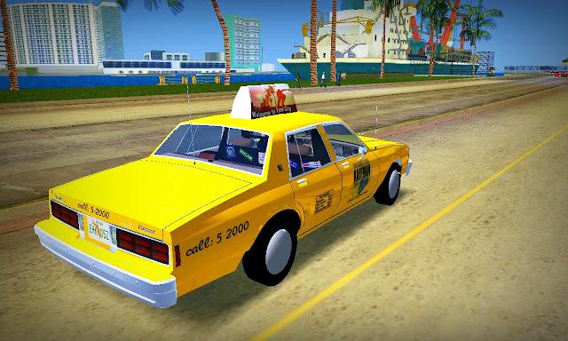Chevrolet Caprice Kaufman Cab 1986 GTA Vice City