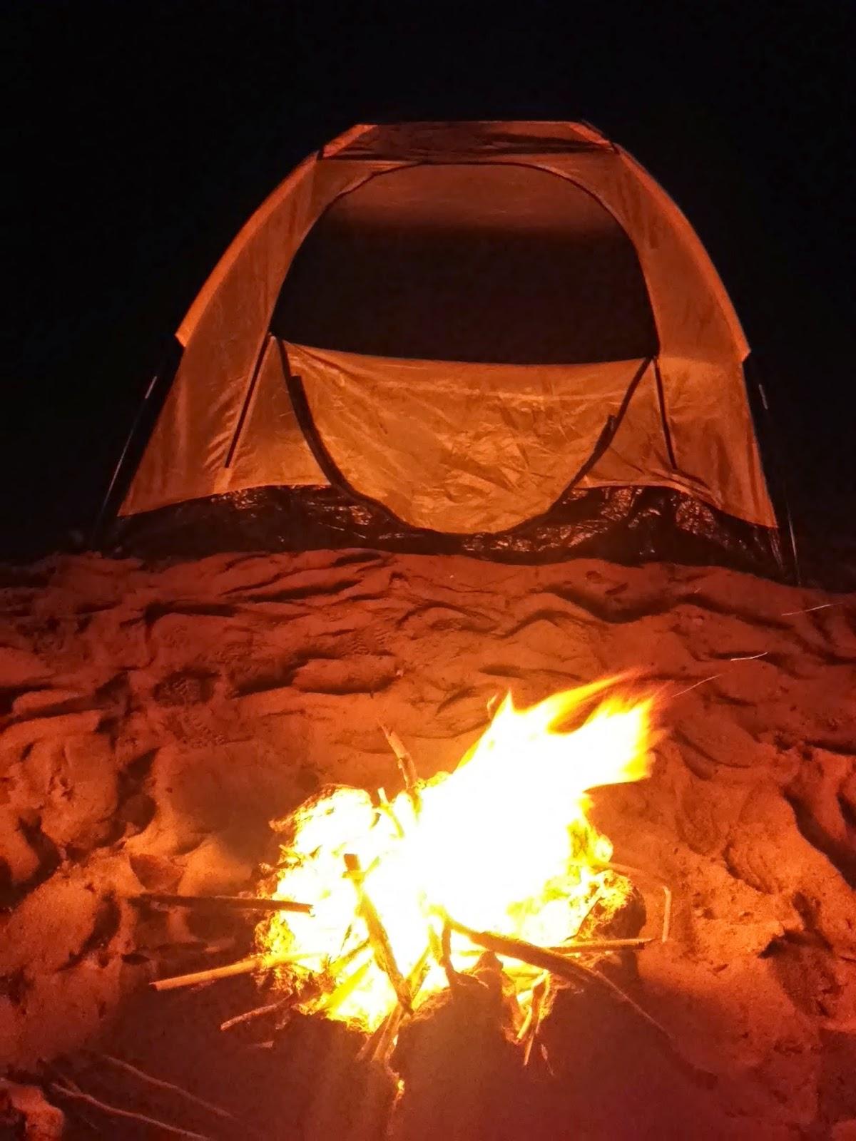 Camping at Patar Beach Bolinao Pangasian