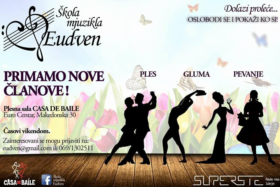 Plešite i pevajte sa nama!