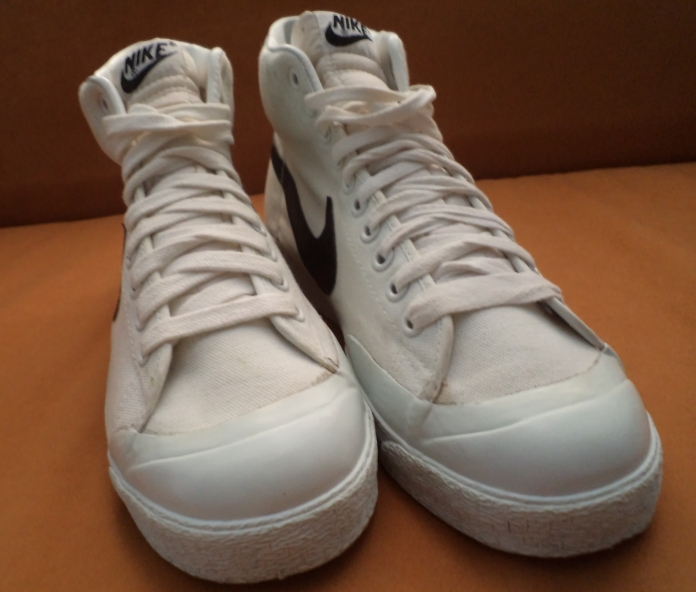 best sneakers dca40 59d31 Nike Blazer Hi Canvas (circa 1981) Made in Rep. Of Korea Size   UK8  Condition   NOS, Deadstock! Our Retail   RM380 Call SMS   Che Ame    +60133344004 Dan   + ...