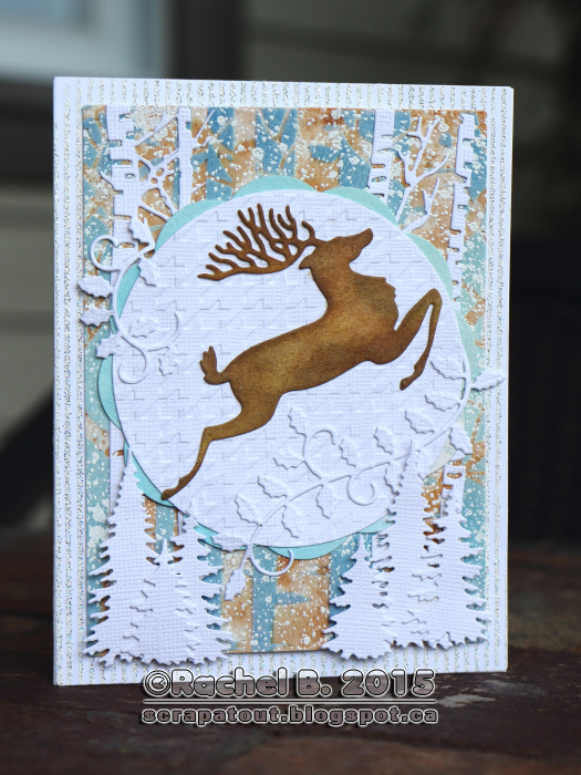 Holiday Card, Impression Obsession, Cover-A-Card