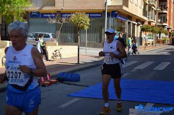 """Iª-Media Maratón """"Ruta del Vino""""Bullas (Murcia)"""