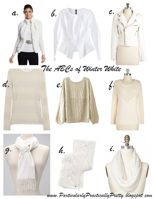 The ABCs of winter white