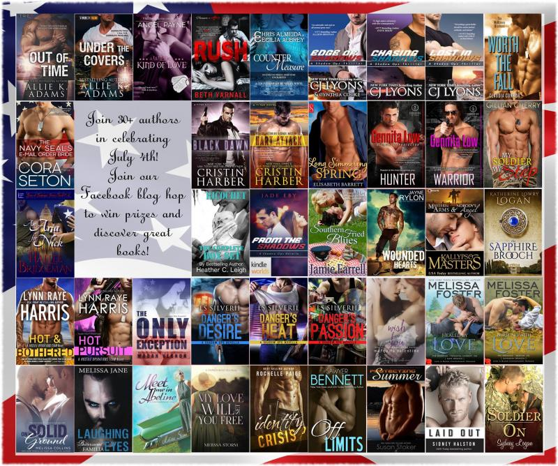 30+ Author July 4th Facebook Hop - PRIZES