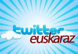 Twitter al euskera