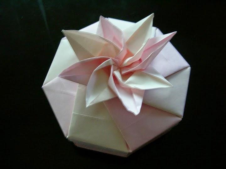 Origami flower box origami animation origami flower box mightylinksfo