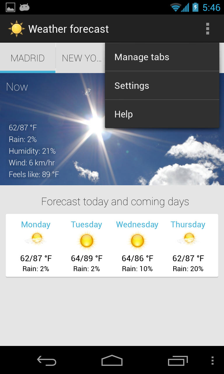 10 Best Free Weather Apps for Android in 2019