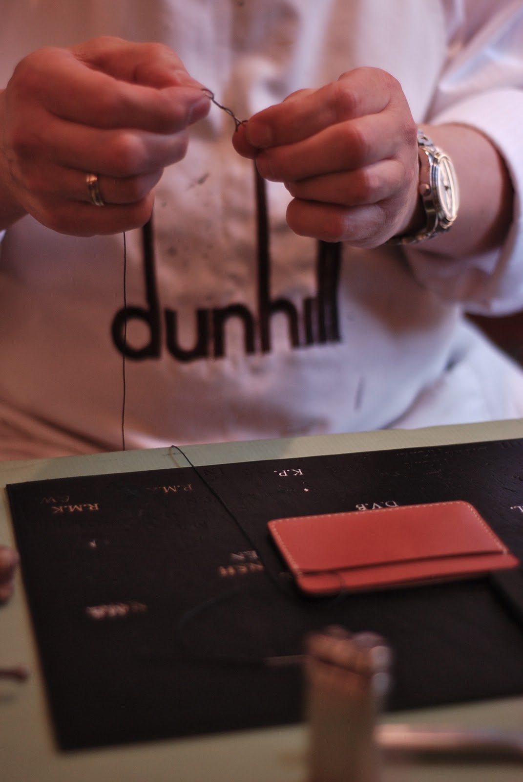 Bespoke Leather At Dunhill Permanent Style