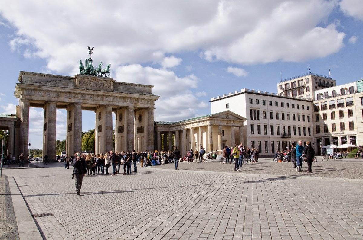 Berlin - Porte de Brandenburg