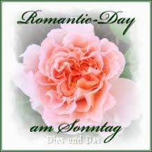 Sonntags wird's romantisch