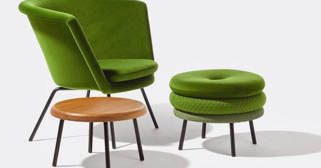 model kursi dan bangku empuk warna warni desain rumah