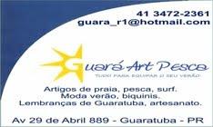 GUARÁ ART PESCA