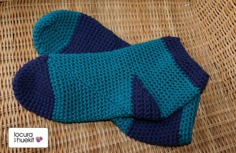 locura en el huekit: Peúcos de crochet