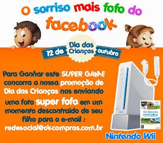 """Promoção Dia das Crianças: """"O Sorriso Mais Fofo do Facebook"""""""