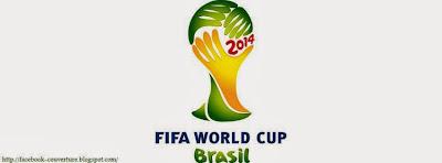 Couverture facebook mondial fifa 2014