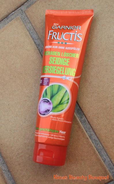 Garnier Fructis Schaden Löscher Seidige Versieglung [Garnier Produktest]
