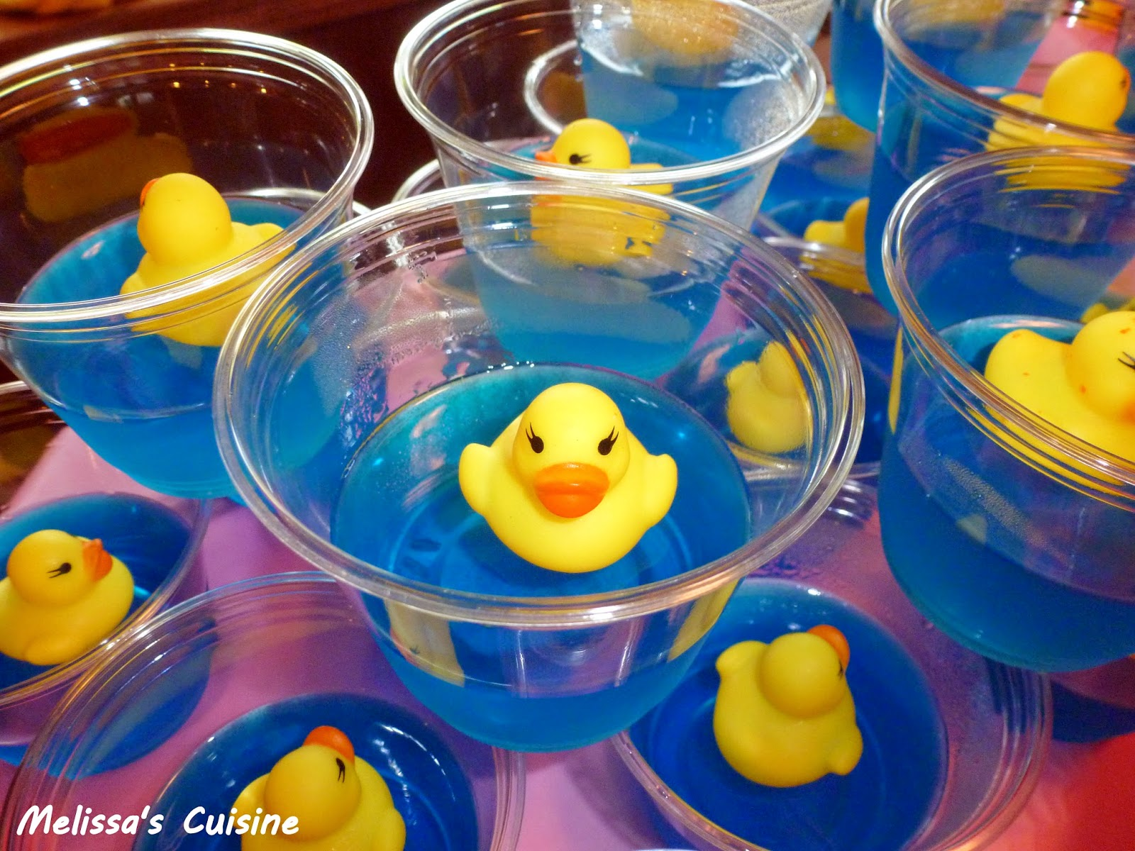 Melissa S Cuisine Rubber Ducky First Birthday Party