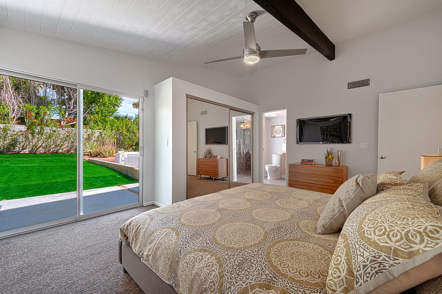 renovated Alexander Home   staged by House & Homes Palm Springs