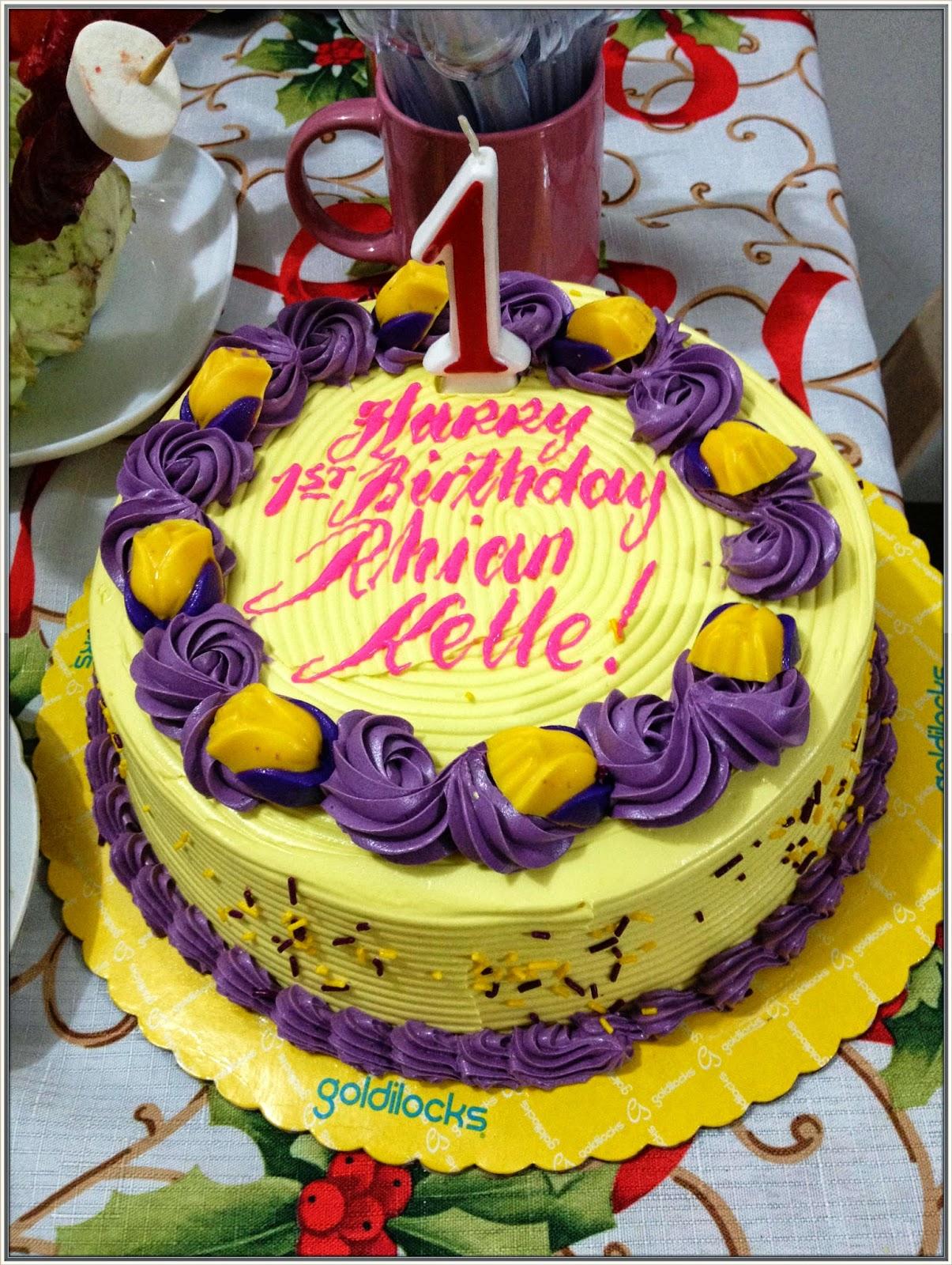 Part 1 Rhians 1st Birthday Celebration My Little World by Mommy