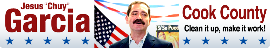 Jesus Garcia :: 7th District Cook County Commissioner