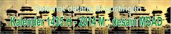 Kalender 1435 H - 2014 M ; desain MSAD