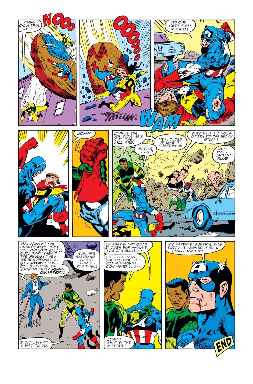 Captain America (1968) Issue #346 #276 - English 24