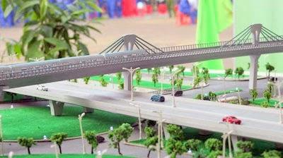 Mô hình tuyến sắt thành thị Cát Linh – Hà Đông.