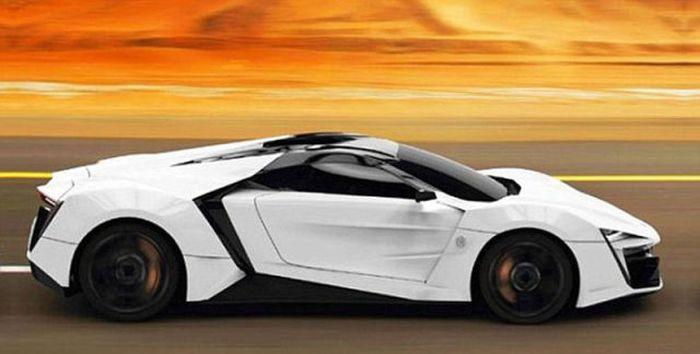 Best car world s most expensive car lykan hypersport for W motors lykan hypersport price