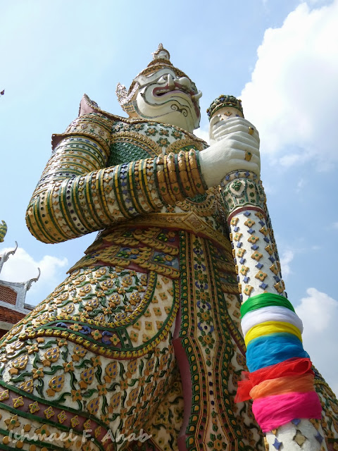 White demon of Wat Arun