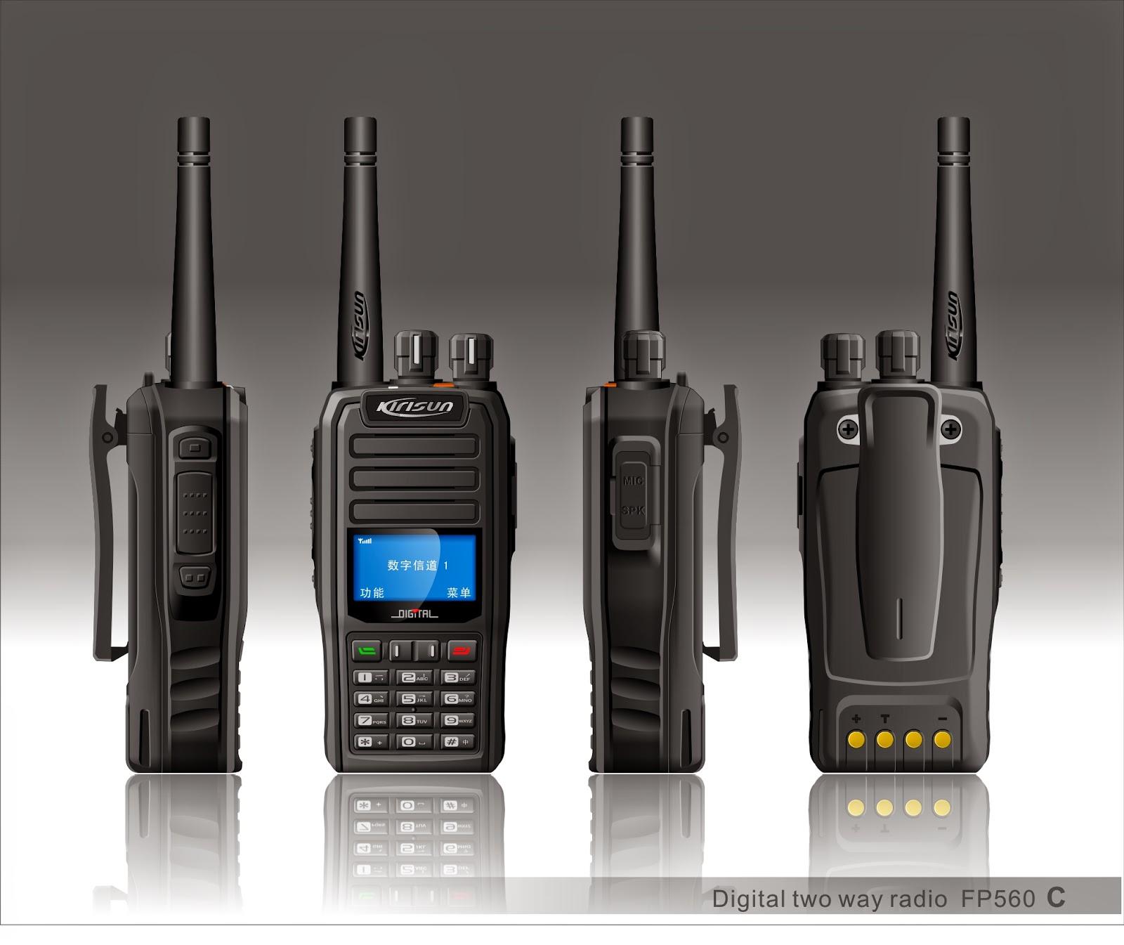 Kirisun FP560S dPMR446 radio