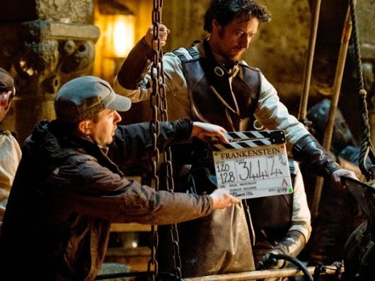 Primeras imágenes oficiales de Daniel Radcliffe y James McAvoy en 'Victor Frankenstein'