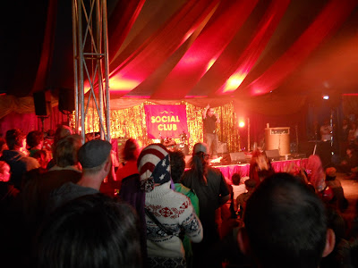 captain hot knives at Shambala
