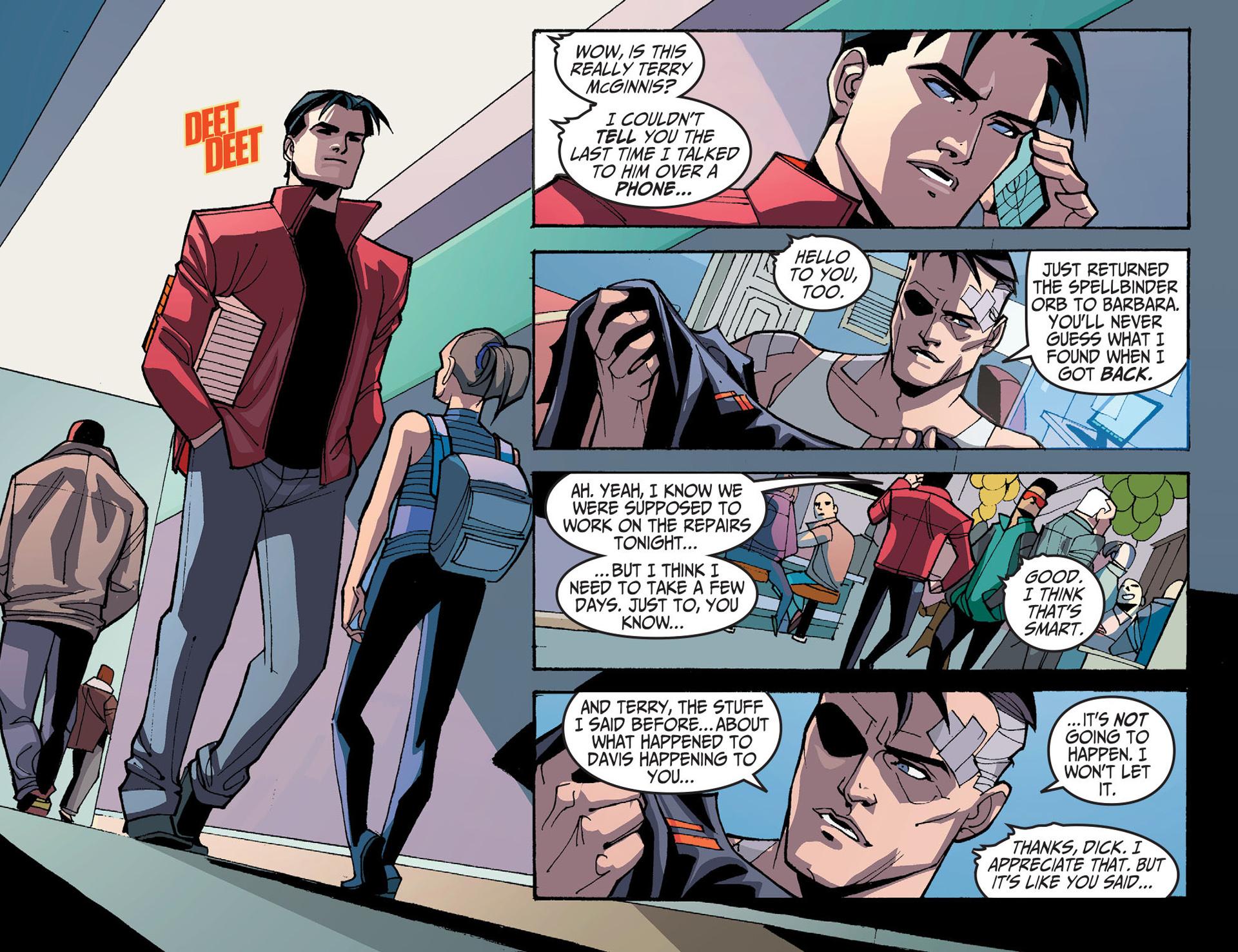 Batman Beyond 2.0 #8 #33 - English 20