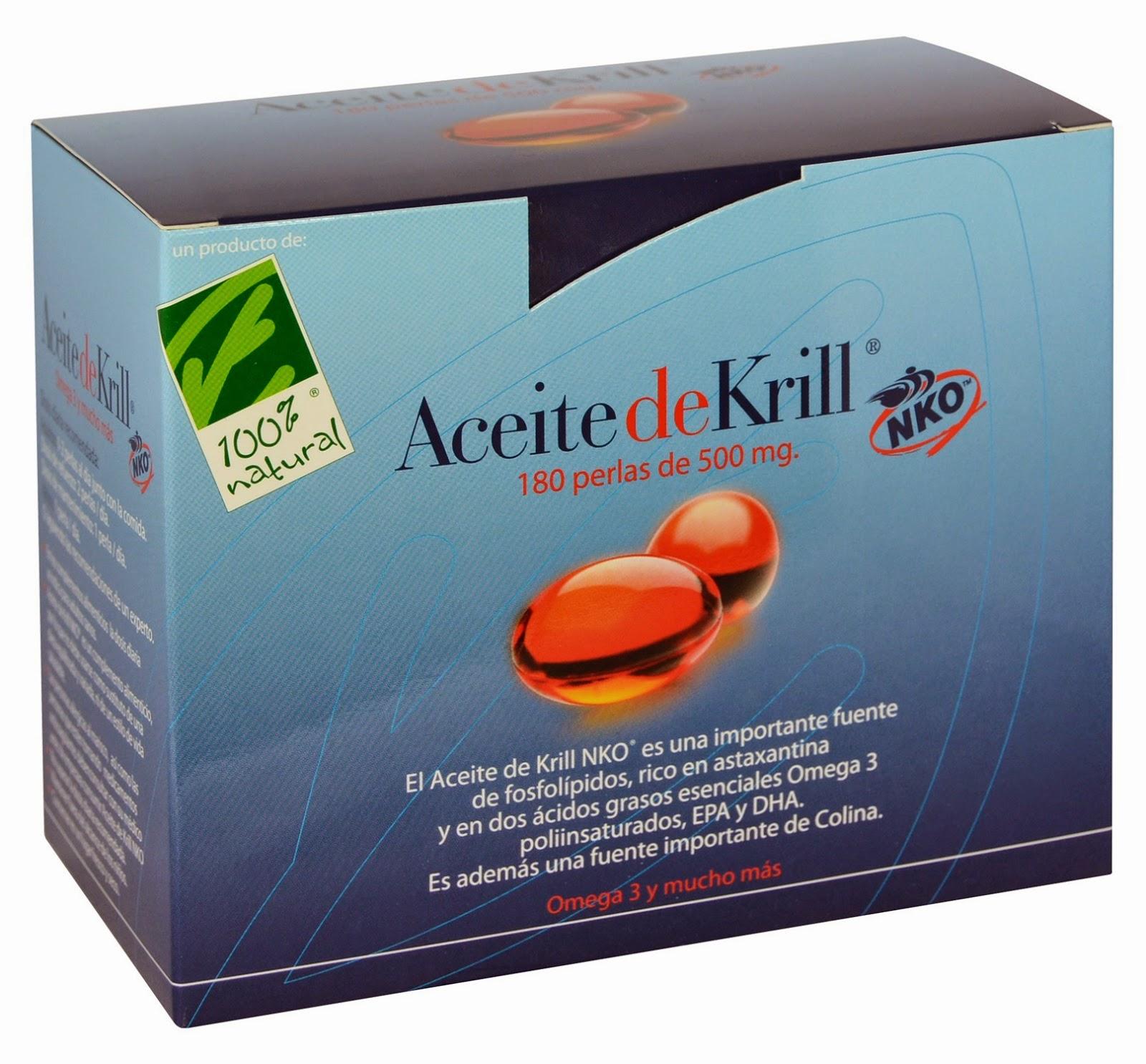 Propiedades aceite de Krill