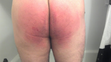 After the spanking!!!