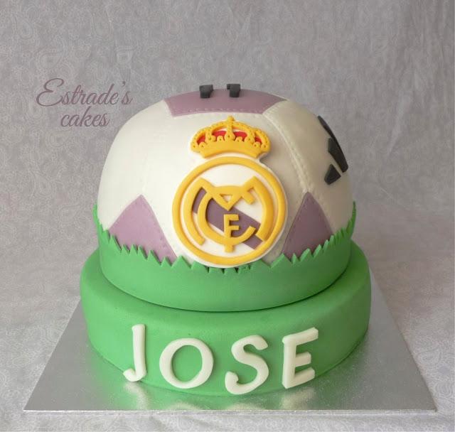 tarta balón del Real Madrid 5