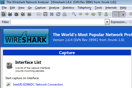 using wireshark to view network traffic Try to capture using tcpdump / windump - if that's working, it's a wireshark problem - if not it's related to libpcap / winpcap or the network card driver step 4: capture traffic destined for machines other than your own.