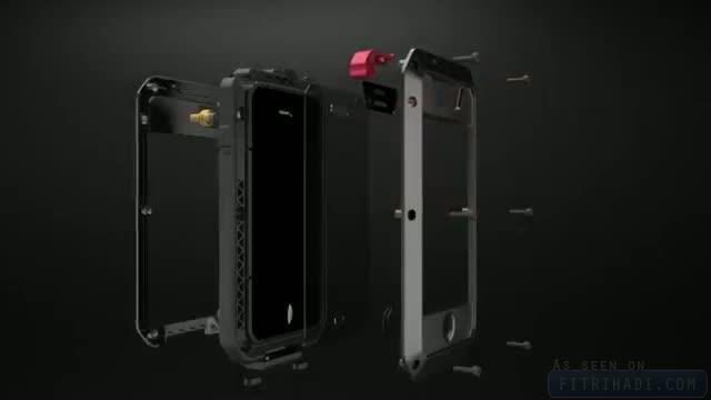 taktik lunatik casing iphone 4 dan 4s