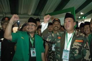 Yaqut Cholil Choumas Pimpin GP Ansor Lima Tahun ke Depan