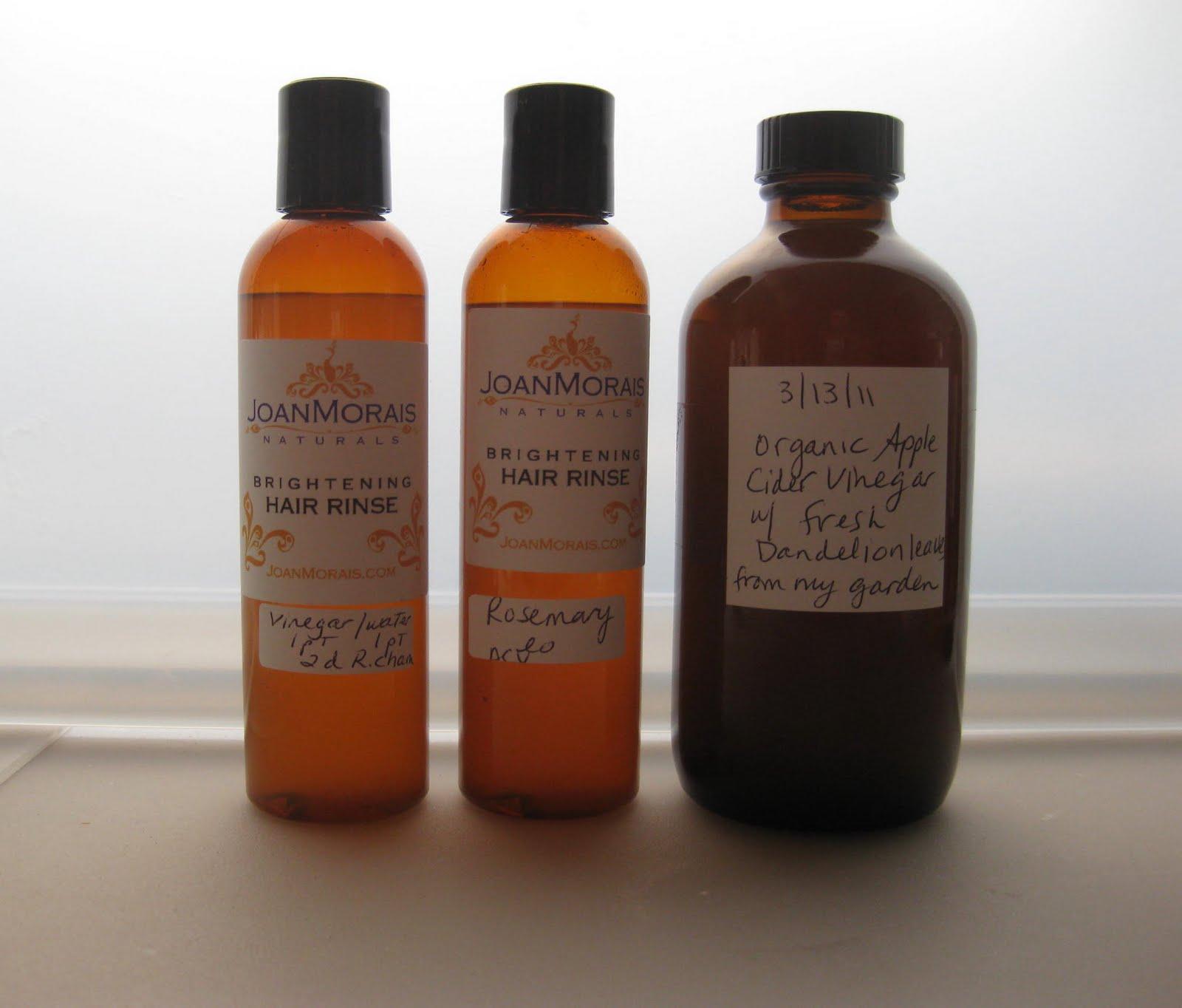 How To Make Natural Hair Tonic Vinegar