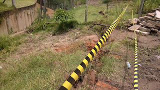 Chuvas deixam obras vulneráveis