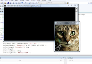 simple opencv application