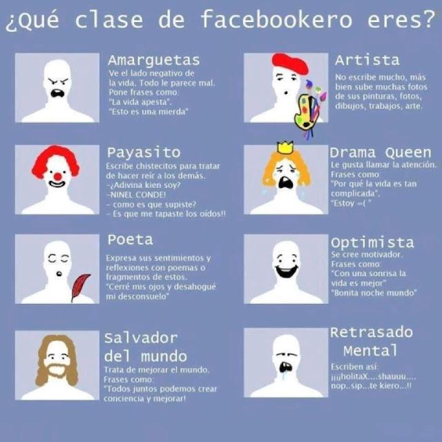 Tipos de Facebookeros