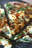 Spinach Artichoke Pizza